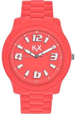 Haurex Haurex Unisex Analog Quarz Uhr mit Gummi Armband SO381XO2