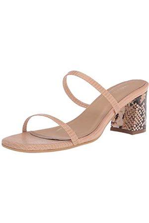 KAANAS Women's Athens Lizzard Strap Heels Heeled Sandal