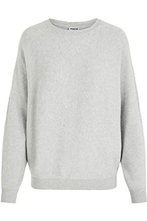 Noisy May Female Bluse Strick XSLight Grey Melange