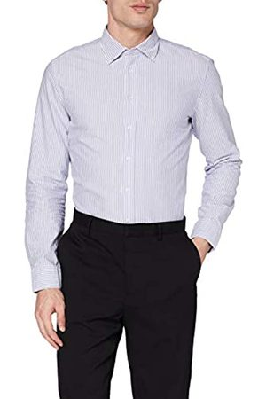 Seidensticker Seidensticker Herren Slim Langarm mit Button-Down Kragen Soft Gestreift Smart Business Businesshemd