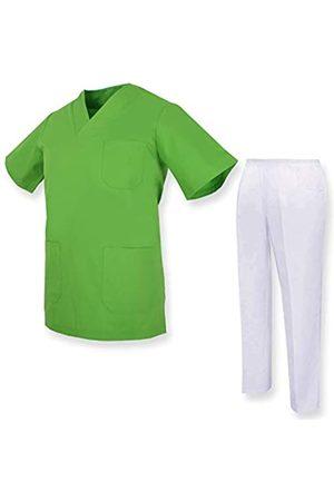 MISEMIYA Unisex-Schrubb-Set - Medizinische Uniform mit Oberteil und Hose ref.81782 - X-Large