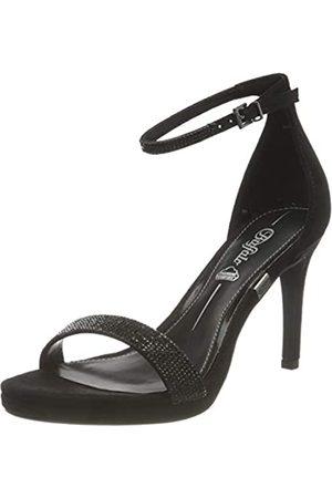 Buffalo Damen MONROE 2 Sandale mit Absatz, BLACK