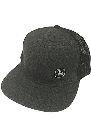 John Deere John Deere Brand Charcoal High Profile w/Suiting Fabric Snapback Hat - 13080463CH