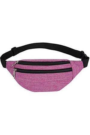 YUNGHE YUNGHE Bauchtasche für Damen und Herren – wasserdichte Hüfttasche mit verstellbarem Gurt für Reisen, Sport