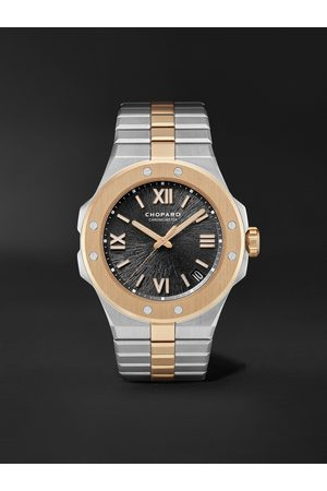 Chopard Alpine Eagle Large Automatic 41mm Lucent Steel and 18-Karat Rose Gold Watch, Ref. No. 298600-6001