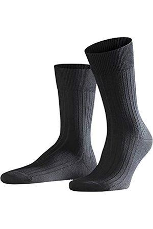 Falke Herren Socken Bristol Pure, Schurwolle, 1 Paar (Black 3000)