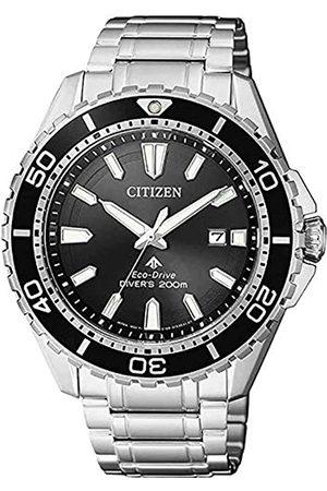 Citizen CITIZEN Herren Analog Solar Uhr mit Edelstahl Armband BN0190-82E