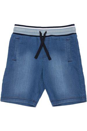 Dolce & Gabbana Shorts Aus Baumwolle Mit Denimeffekt