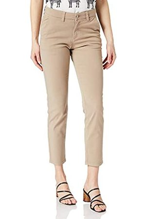 SELECTED Female Chino Tapered Fit 40Silver Mink