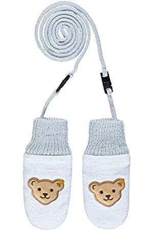Steiff Baby-Jungen mit süßer Teddybärapplikation Babyfäustlinge