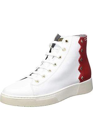 Geox Geox Damen D KAPHA B Sneaker, White/Silver