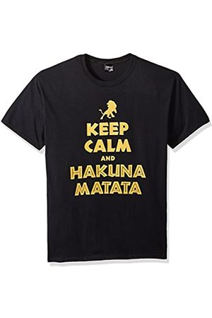 Disney Herren Lion King Simba Keep Calm and Hakuna Matata Graphic T-Shirt Hemd
