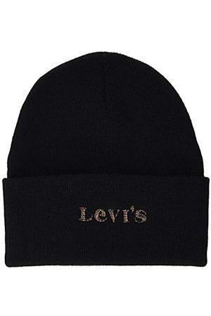 Levi's Women's Modern Vintage Logo Holiday Expression Beanie-Mtze
