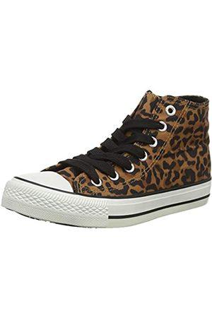 New Look Damen 5697366 Hohe Sneaker, (Stone 16)