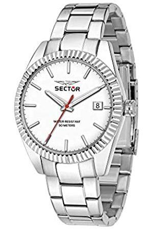 Sector Sector No Limits Herren Analog Quartz Uhr mit Stainless Steel Armband R3253240012