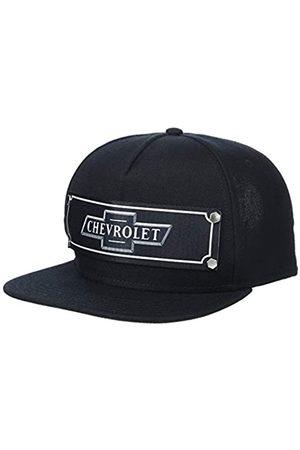 Buckle-Down Herren Snapback Hat - Chevrolet Bowtie Emblem Black/White Mütze