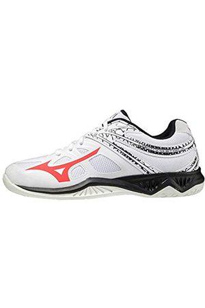 Mizuno Mizuno Lightning Star Z5 Volleyball-Schuh, White/IgnitionRed/Salute