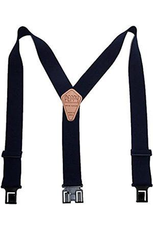 Perry Suspenders Perry Hosenträger der Männer Elastic Hakenende 2 Inch Arbeitshosenträger (Hoch verfügbar)