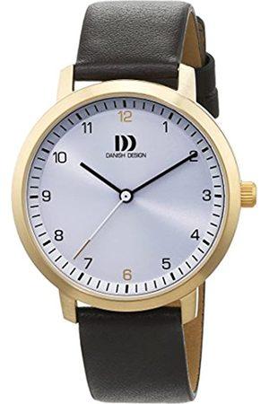 Danish Design Danish Design Damen Analog Quarz Uhr mit Leder Armband 3320231