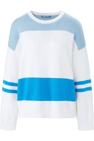 DAY.LIKE Rundhals-Pullover weiss