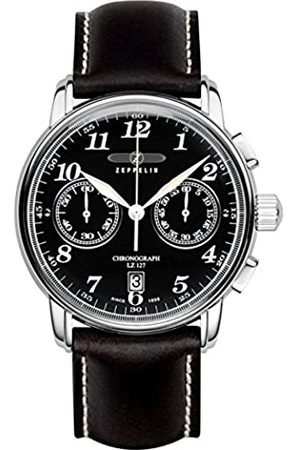 Zeppelin Herren-Armbanduhr 100 Jahre Chronograph Quarz Leder 76782