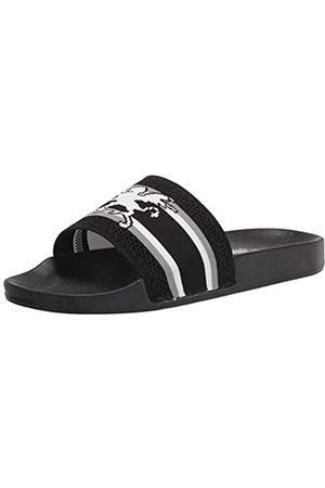Stacy Adams Stacy Adams Herren Shuttle Slide Sandalen Pantoletten, (schwarz)