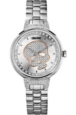 Marc Ecko Marc Ecko Herren Datum klassisch Quarz Uhr mit Edelstahl Armband E16566L1