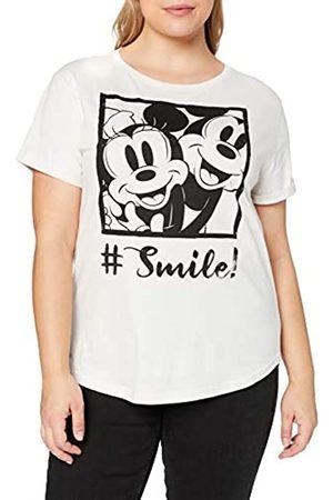Disney Disney Damen Hashtag Smile T-Shirt