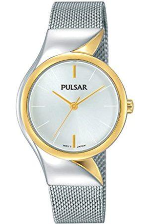 Pulsar Pulsar Quarz Damen-Uhr Edelstahl mit Metallband PH8230X1