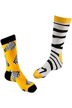 Verdas Happy Colorful Dress Socks Presidents Herren Damen Socken Universalgröße Unisex Bequem Cool Cute Crew Socken - Gelb - Einheitsgröße