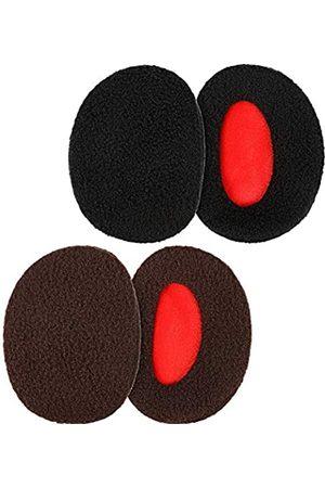 SATINIOR SATINIOR 2 Paar Bandlose Ohrenwärmer Ohrenschützer Warme Ohrenschützer für Männer und Frauen (Mittel)