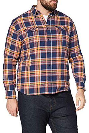 Wrangler Herren LS 2PKT Flap Shirt Hemd