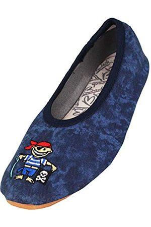 Beck Beck Jungen Pirat Gymnastikschuhe, Blau (dunkelblau)