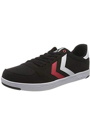 Hummel Unisex-Erwachsene Stadil Light Canvas Sneaker, Black/RED