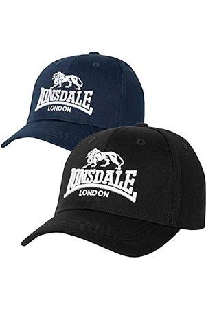 Lonsdale London Unisex-Adult Wiltshire Double Pack Cap