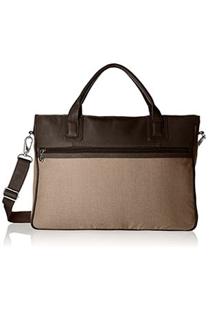 Piel Piel Leather Dünne Laptoptasche (Braun) - 3074-CHC