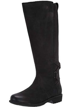 Teva Damen Ellery Tall Waterproof Burnished Boots Kniehoher Stiefel