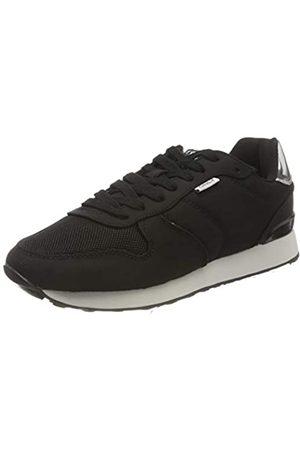 ONLY Damen ONLSAHEL-4 METALLIC Sneaker, Black