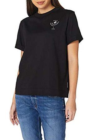 Scotch&Soda Damen Shirts - Maison Damen Bio-Baumwolle mit Grafik-Print T-Shirt