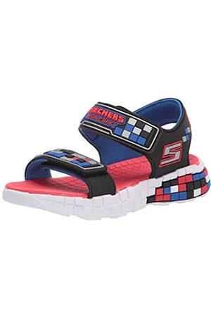 Skechers Jungen MEGA-Craft Sandal Sneaker, Black