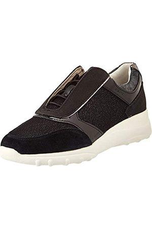 Geox Geox Womens D ALLENIEE C Sneaker, Black