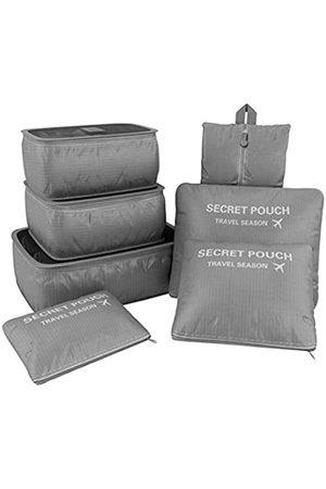 VAYEEBO 7 x wasserdichte Reisetaschen für Kleidung, Packung, Koffer