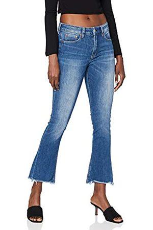 Herrlicher Damen Super G Boot Cropped Denim Cashmere Touch Jeans