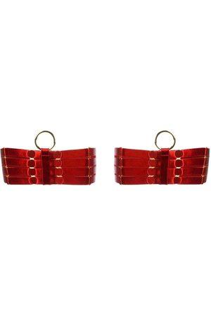 BORDELLE Damen Accessoires - Strumpfhalter mit Metallic-Effekt