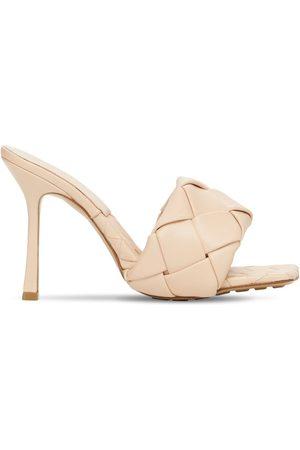 Bottega Veneta Damen Sandalen - 90mm Hohe Sandalen Aus Gewebtem Leder