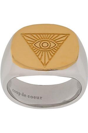 Coup De Coeur Ringe - Ring mit Auge - Metallisch