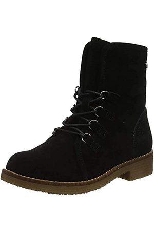 Hush Puppies Damen Milo Biker Boots, (Black Black)
