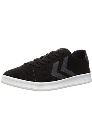 Hummel Unisex-Erwachsene BUSAN Knit Sneaker, Black/Black