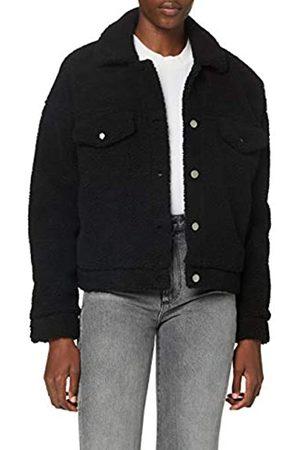Dr Denim Damen Pixley Jacket Jacke, Black