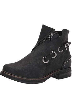 MUK LUKS Damen RANYA BOOT-BLACK Mode-Stiefel